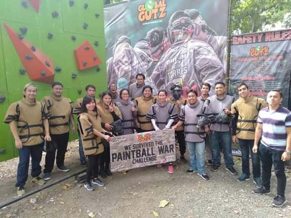 Makati Philippines Paintball Team Outing