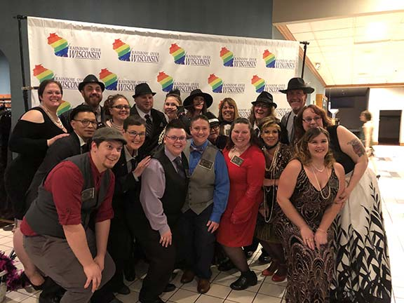 Salelytics Pride Alliance at Rainbow over Wisconsin Gala – Appleton, WI